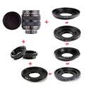 Объектив Fujian 35 мм f/1,7 Φ CCTV + переходное кольцо + 2 макрокольца для беззеркальной камеры NEX FX M4/3 NIKON1 EOSM