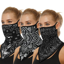 Bandana Headband 3pc Outdoor Print Seamless Ear Cover Sports Scarf Neck Tube Face Riding Scarf Hijab Scarf Маска Многоразовая(China)