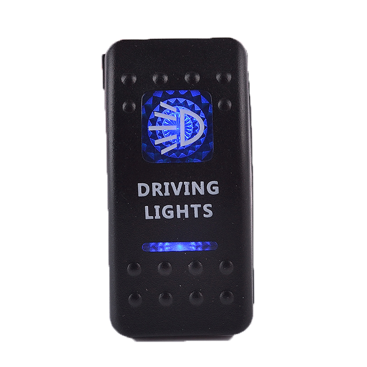 He Xiang Automobile Modified Switch/Boat-shaped Switch/with LED Indicator Light Wholesale Driving Light