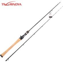 TSURINOYA Baitcasting Fishing Rod PROFLEX Solid Tip L Powe Bass Rod 1.91m C632L Full FUJI Accessories Long Casting Carbon Rod