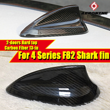 F82 Shark Fin Carbon For BMW 2-doors Hard top M4 420i 428i 428ixD 430i 435i 440i Roof Antenna Shark Fin Cover Decorations 2013- f82 carbon fiber shark fin gloss black for bmw f82 2 doors hard top m4 420i 428ixd 430i 435i roof antenna shark fin cover 13 in