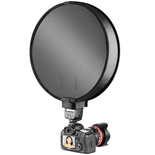 30cm/40 centimetri Photography Studio Fotografico Portatile Mini Rotonda Soft Box Studio di Ripresa Tenda Diffusore SoftBox Universale per DSLR Camera