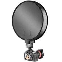 30cm/40cm fotoğraf fotoğraf stüdyosu taşınabilir Mini yuvarlak yumuşak kutusu stüdyo çekim çadır difüzör SoftBox için evrensel DSLR kamera