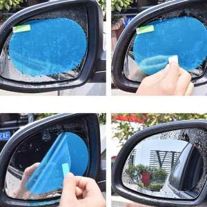 Car-Rearview-Mirror Rain-Film Waterproof-Membrane Universal New