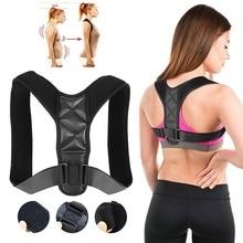 Adult Kids Adjustable Back Shoulder Support Posture Corrector Corset Spine Brace Belt Orthotics Back Support
