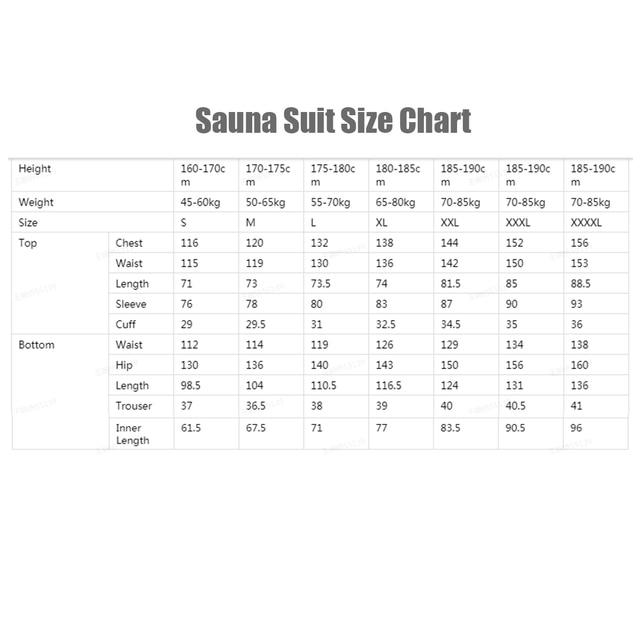 Костюм-сауна для похудения спортивный костюм для сгонки веса  6