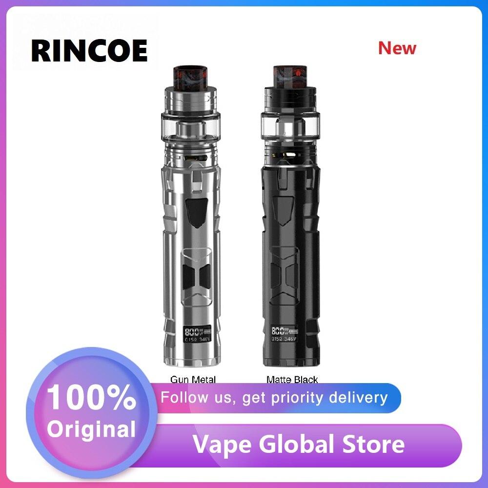 Nouveau Kit Original Rincoe Mechman 80W TC avec e-cig Vape boîte Mod & 4.5ml maille réservoir Portable E-cigarette Kit Vs Shogun/Luxe Kit