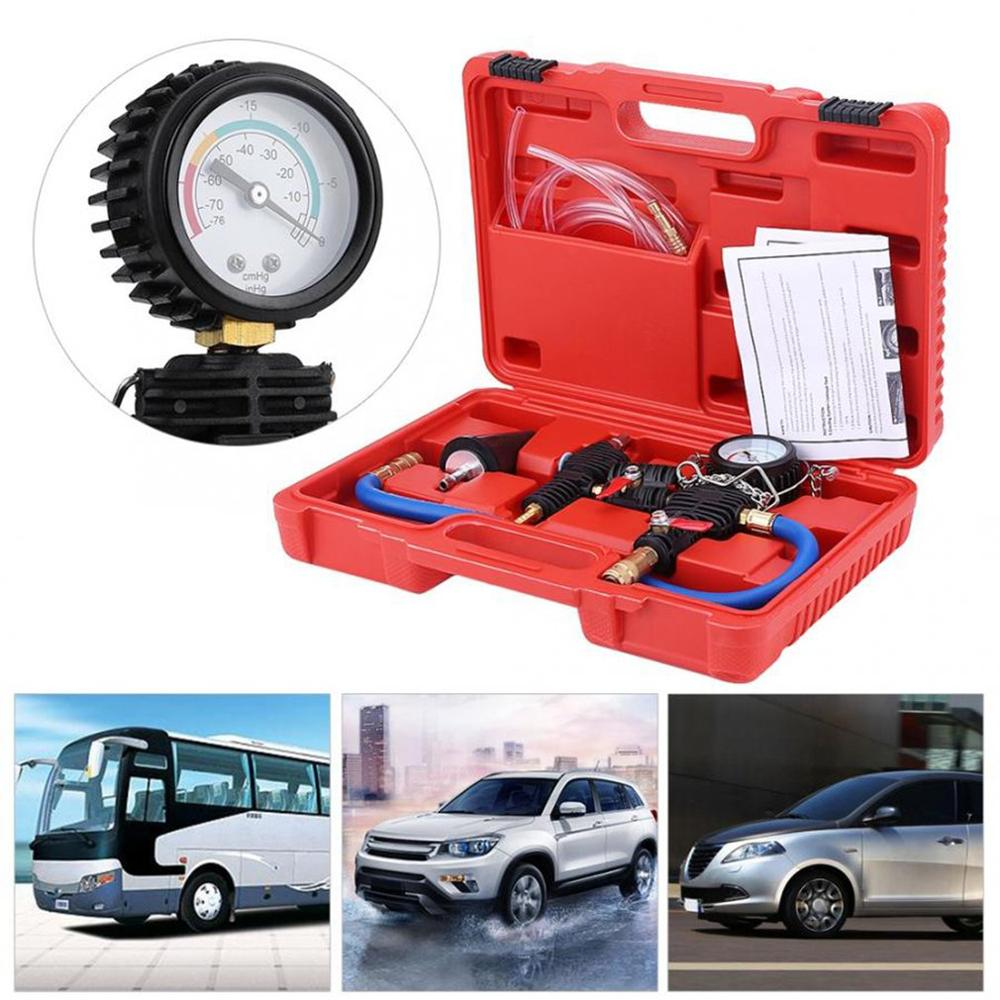 Auto Coolant Vacuum Kit Cooling System Radiator Set Refill And Purging Tool Universal For Automotive Cooling Systems Test