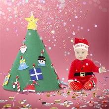 Новые рождественские украшения 2020 Детский пазл ручной работы