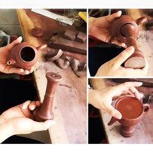 Набор керамических инструментов ручной работы pot's ceramic