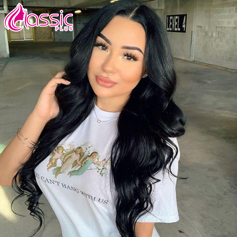 Classic Plus Synthetic Wig 26 inch Lace Front Body Wave Wigs For Women Natural Wavy 613/Orange Color Cosplay Wigs Heat Resistant