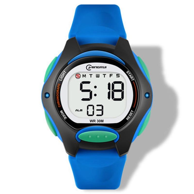Детские часы UTHAI CE13, цифровые наручные часы для мальчиков и девочек, водонепроницаемые спортивные светодиодные часы, светящиеся, новинка 2020,...