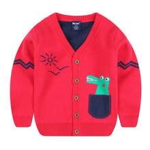 Jo & mi 2020 Осенняя детская одежда свитер для мальчиков Детский