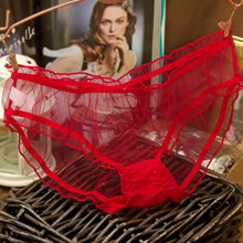 Marca calcinha vs calcinha sexy rendas cueca feminina sexy translúcido rendas calcinha de alta qualidade briefs vermelho preto rosa