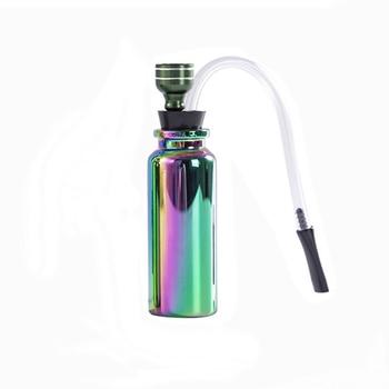 1pc Portable Herb Smoking Pipe Mini Water Bong Glass Water Pipe Hookah Shisha Tobacco Smoking Pipes