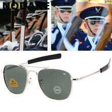 NODARE Fashion Aviation Sunglasses Men Brand Designer AO Sun