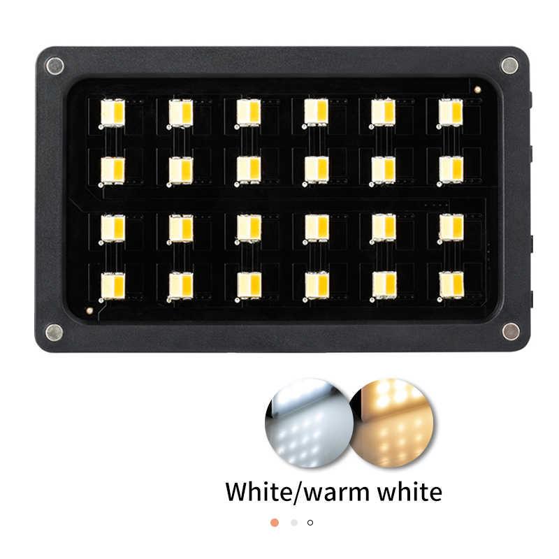 VILTROX Weeylife RB08 RB08P RGB 2500 K-8500 K Mini Video led ışık dolgu ışığı dahili pil telefonu için kamera çekim stüdyosu
