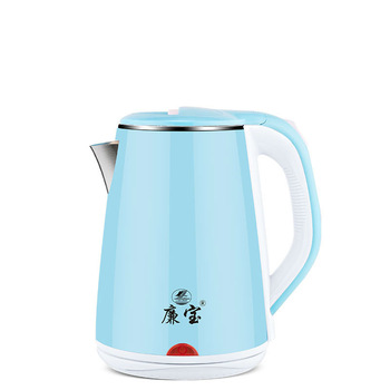 цена на New 1500W Electric Kettle Stainless Steel Double Layer Anti Scalding Insulation Pot Automatic Power Off Home Fast Heating Kettle