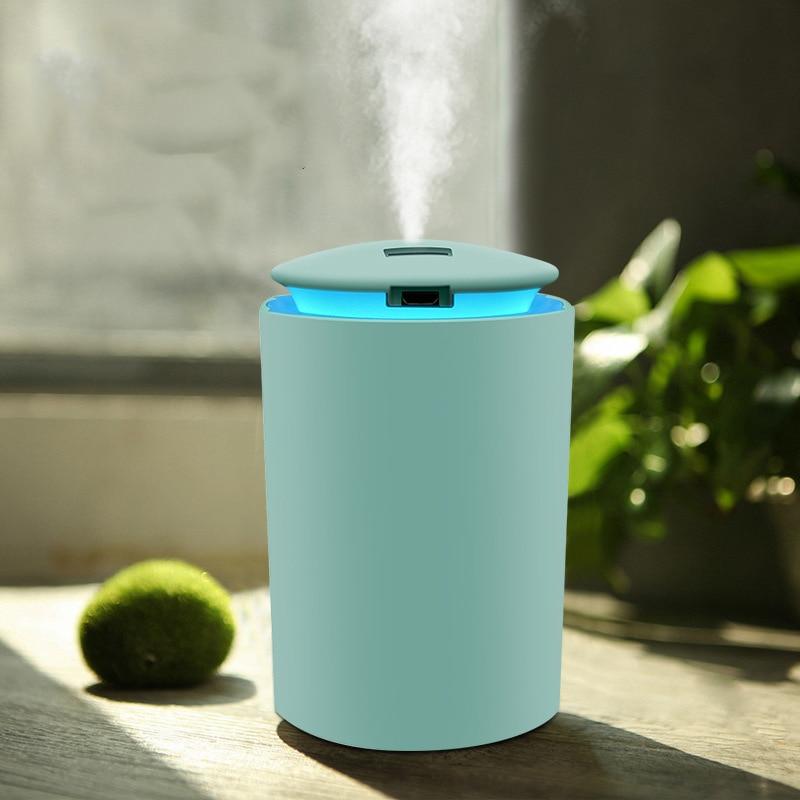 KBAYBO 150ML Home Air Humidifier Cool Mist Aroma Diffuser With Coloful LED Light Heavy Fog Ultrasonic USB Humidificador