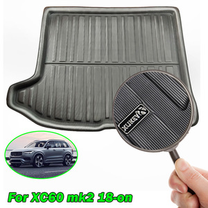 Image 3 - Boot Cargo Liner Rear Trunk Boot Mat For Volvo XC60 2 MK2 2018 2019 2020 Second Genetation Floor Carpet Luggage Tray