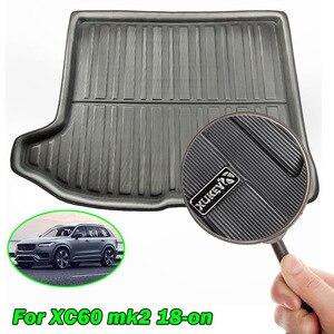 Image 3 - Tapis de coffre pour coffre de coffre, Volvo XC60 2 MK2, 2018, 2019, 2020, deuxième génération, tapis de bagages