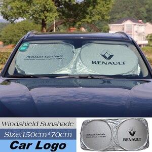 Image 1 - Car Sunshade Front Window Protection Shield Windshield Visor Cover For Renault Kia bmw skoda honda mazda audi nissan car styling