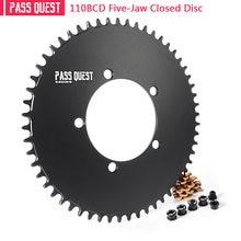 Pass quest 110bcd 5 коготь закрытый диск Круглый дорожный велосипед