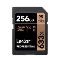 Lexar profissional sdxc 633x UHS-I cartões sd 128 gb 256 gb cartão de memória 95 mb/s de alta velocidade poderoso cartão sd