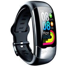 Pulsera inteligente deportiva ffyy spovan Ecg, pulsera Usb de moda con detección de frecuencia cardíaca para Fitness, presión arterial saludable, oxígeno en la sangre