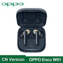 Original OPPO Enco W51 TWS Kopfhörer 7mm Dynamische Bluetooth 5,0 Drahtlose Kopfhörer Typ-C Für Reno 4 SE pro 3 Finden X2 Pro ACE 2