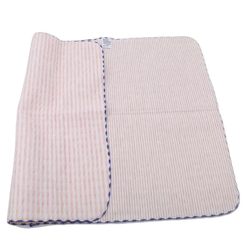 Детские пеленки покрывают органический хлопок водонепроницаемый слой пеленальный коврик пеленания мочи прокладки листы для новорожденных многоразовые