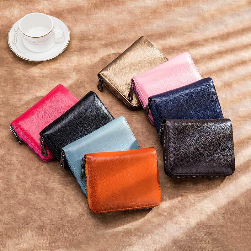 Bayan çanta moda kadın küçük cüzdan deri cüzdan kart tutucu yastık cüzdan erkekler torba nötr kolaylık çantası