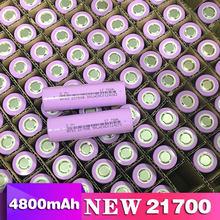 New 21700 lithium battery 3.7V 4800mAh power electric car battery for mobile power flashlight battery