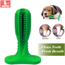 Dog Toothbrush Chew Toys For Small Bite Resistant Puppy Dental Oral Care Teeth Stick Cleaner Pet Cleaning Toy