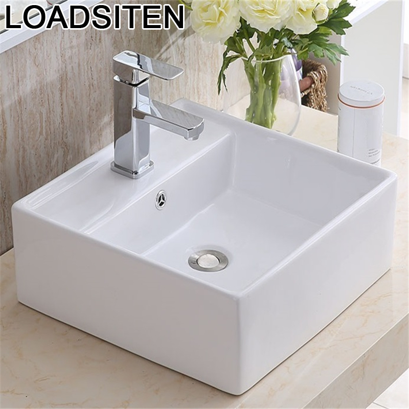 Bain Bacia Lavagem Lavatory Para Bathroom Vanity Umywalka De Mano Lavandino Lavabo Da Appoggio Pia Sink Cuba Banheiro Wash Basin