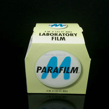 1Roll/lot 10cmx38m sealing film, Parafilm M laboratory Seal Film PM-996 4INX125FT