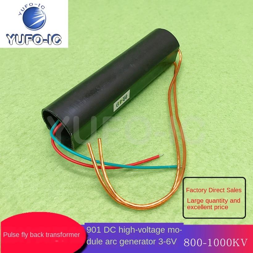 Бесплатная доставка, 1 шт., импульсный инвертор катушки зажигания 901, модуль постоянного тока высокого напряжения, дуговой генератор 3 6 в 800 1000 кв|Интегральные схемы|   | АлиЭкспресс