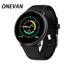 2020 novo relógio inteligente m31 toque completo ip67 à prova dip67 água múltipla modo de esportes diy ecg/ppg reloj inteligente rosto para android & ios