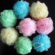 Scrubber Massage Shower-Ball Bath-Towel Body-Loofah Exfoliating for Cleaning-Tool 2PCS