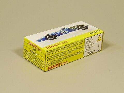 dinky toys 143 f1 matra diecast model car