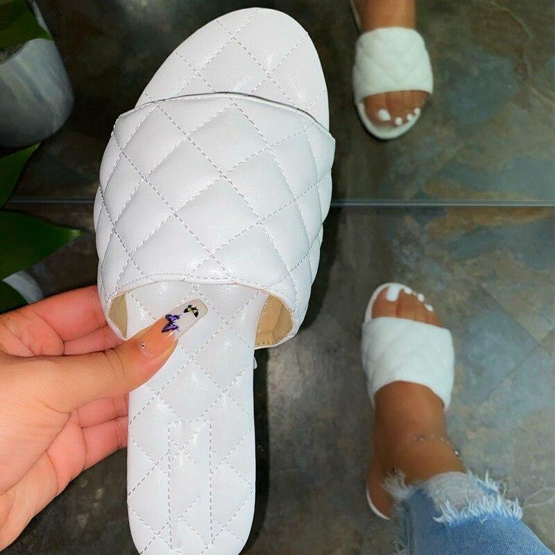 Home Women Summer Flat Slippers Shoes 2020 Women