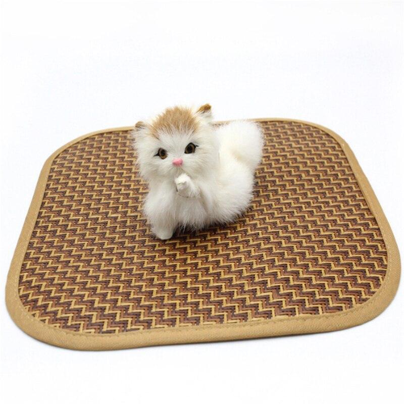 Коврик для питомца, летний охлаждающий коврик, плюшевый матрас, Маленькая подушка для кошки, летняя, сохраняющая прохладу, кулер для