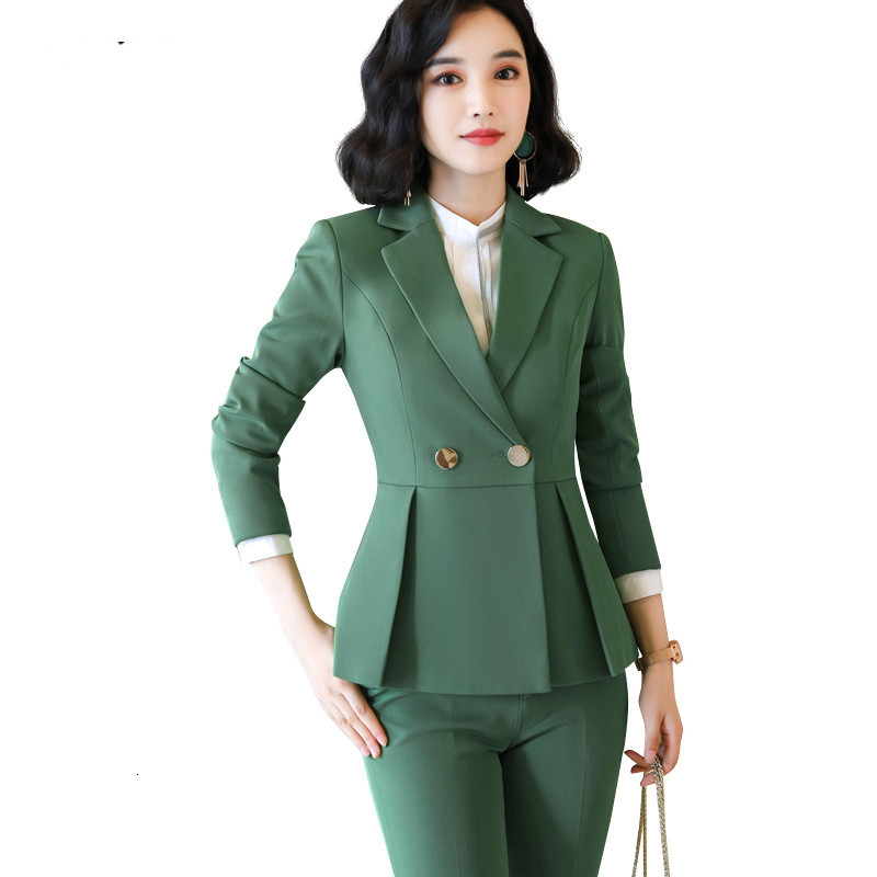 New Women's High-end Women's Wear Two Accessories Pants, Suits, Desks, Women's Formal Work Clothes Winter Clothes Maternity