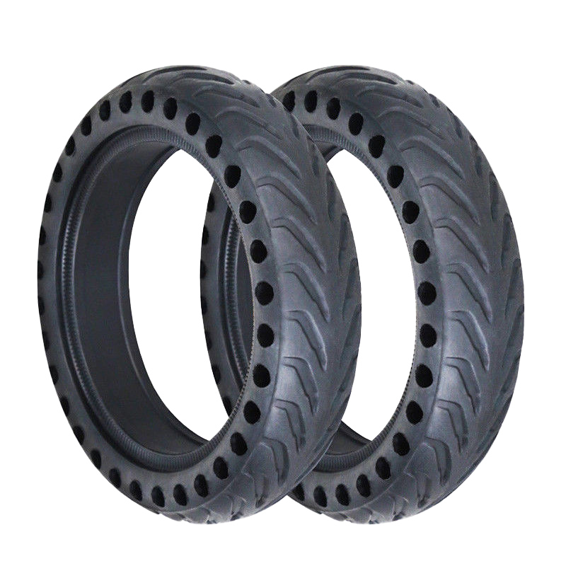 2Pcs Upgraded Hollow Wheel Solid Honeycomb For Xiaomi Mijia M365 Electric Scooter|Tire Accessories| |  - title=