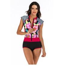 Высококачественный купальный костюм для женщин популярный принт Купальник сдельная пляжная одежда горячая Распродажа сексуальный костюм для серфинга для купания