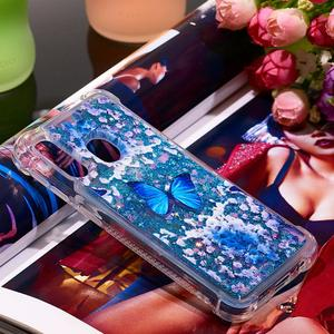 Image 3 - Glitter Bumper Phone Case For Samsung Galaxy Note 10 Note10 Plus M20 M10 M30 A30 A50 A40 A20 A10 Liquid Quicksand Soft TPU Cover