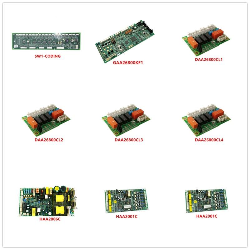 SW1-CODING|GAA26800KF1|DAA26800CL1|DAA26800CL2|DAA26800CL3|DAA26800CL4|HAA2006C|HAA2009C1|HAA2001C|VDD50-1-GND|HVF5-CMU Used