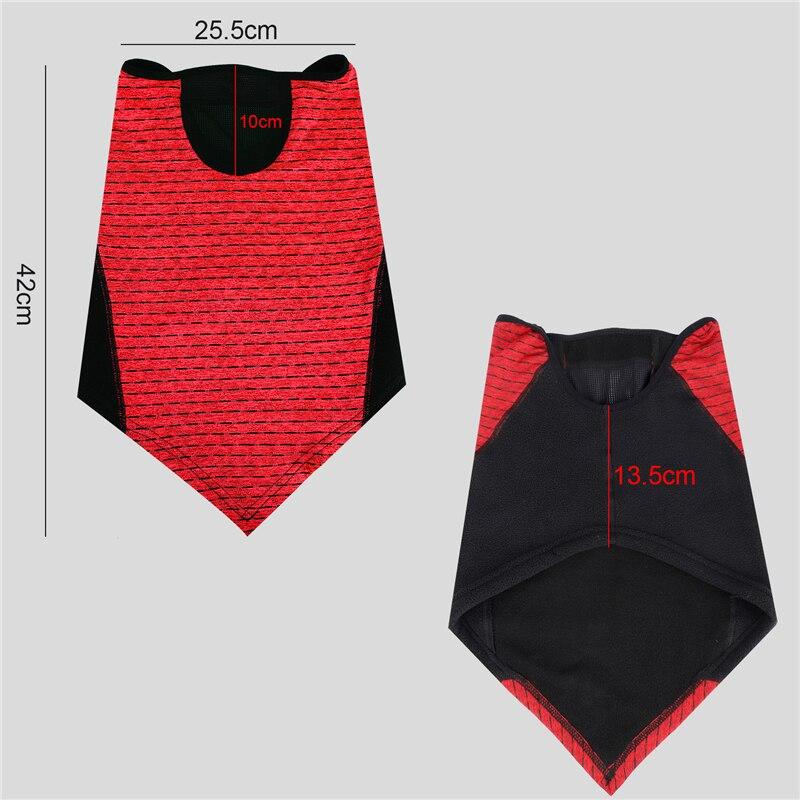 H011dd1b3ccb149d5a1951e3fbe47a3f9z WEST BIKING Winter Cycling Mask Fleece Thermal Outdoor Sports Facemask Bandana Headband Anti-UV Running Training Ski Face Mask