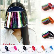 Летние прозрачные солнцезащитные шапки защита от ультрафиолета