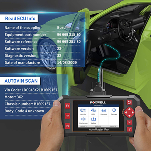 Image 4 - FOXWELL NT604 Elite OBD2 Auto Diagnostic Scanner Engine Transmission ABS Airbag System OBD 2 Code Reader Automotive Diagnosis